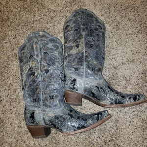 Corral Distressed Leather Boots